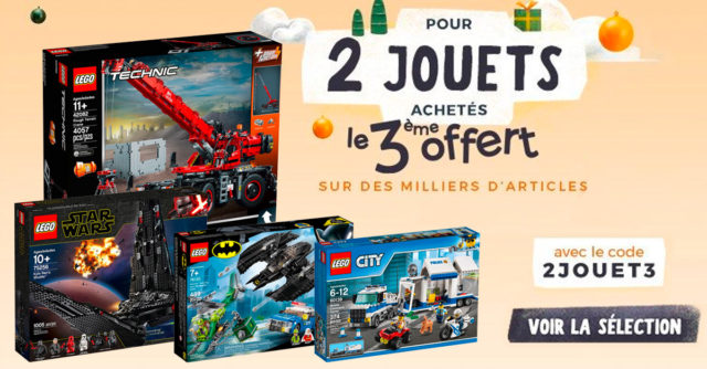 Promo LEGO Cdiscount