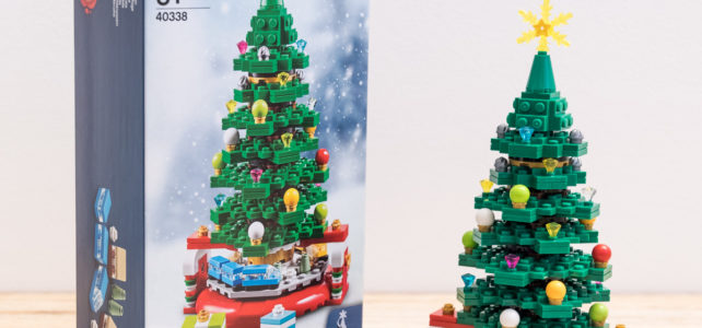 REVIEW LEGO 40338 Christmas Tree Black Friday