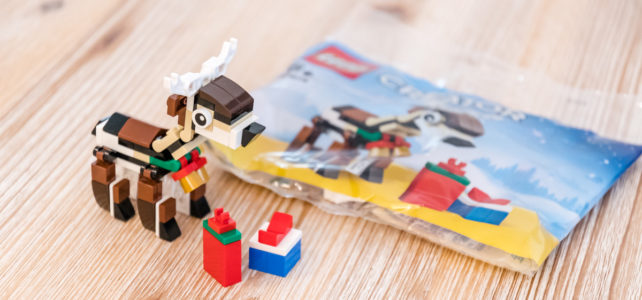 REVIEW LEGO Creator40434 Reindeer