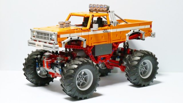 Vintage Monster Trucks LEGO Technic