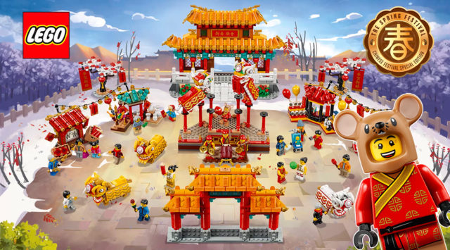 LEGO 80104 80105 Nouvel an chinois