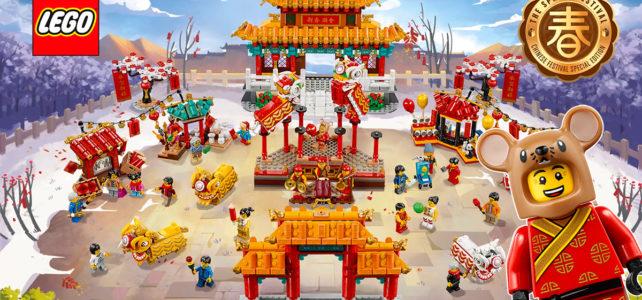 LEGO 80104 80105 Nouvel an chinois