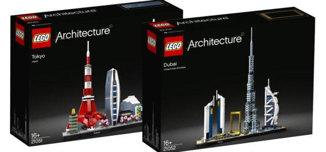 LEGO Architecture 2020 Tokyo Dubai