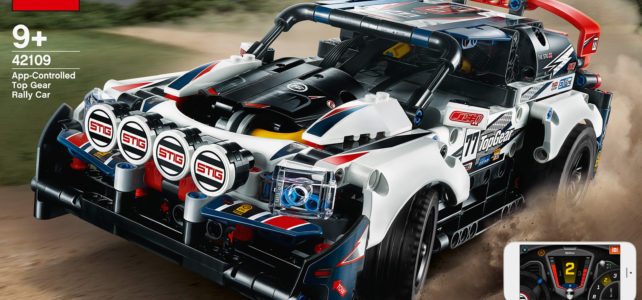 LEGO Technic 42109 App-Controlled Top Gear Rally Car : l'annonce officielle