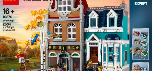 LEGO 10270 Bookstore