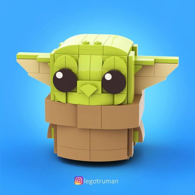 Baby Yoda LEGO BrickHeadz Mandalorian
