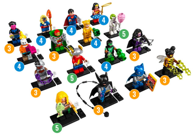 LEGO 71026 DC Comics Collectible Minifigures Series