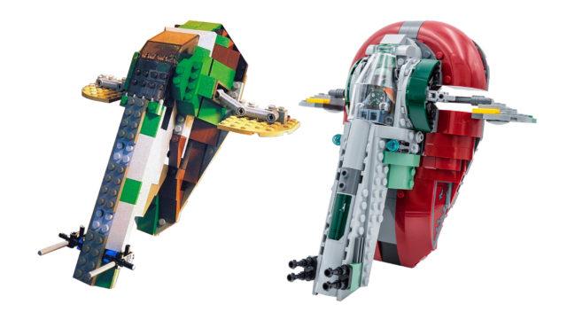 LEGO 75222 Cloud City Slave I