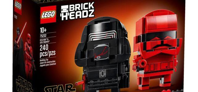LEGO 75232 BrickHeadz Kylo Ren Sith Trooper