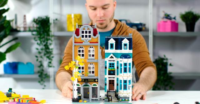 LEGO Creator Expert 10270 Bookshop video designers
