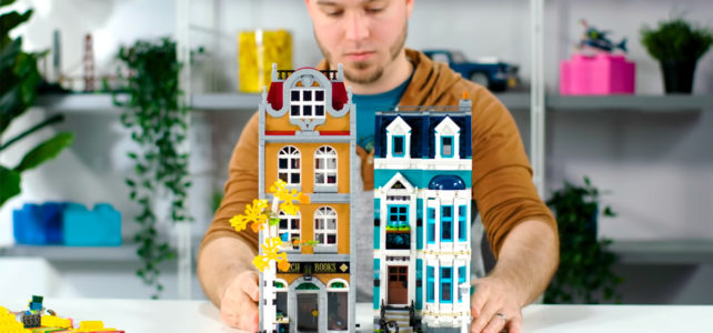 LEGO Creator Expert 10270 Bookshop video designers