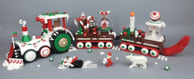LEGO Gingerbread Man Christmas Vehicle