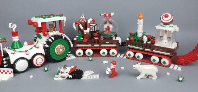 LEGO Gingerbread Man Christmas Vehicle