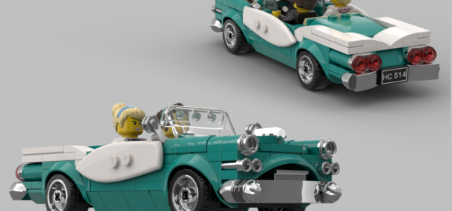 LEGO Ideas Vintage car winner