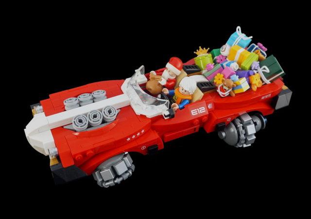LEGO Santa's supercar