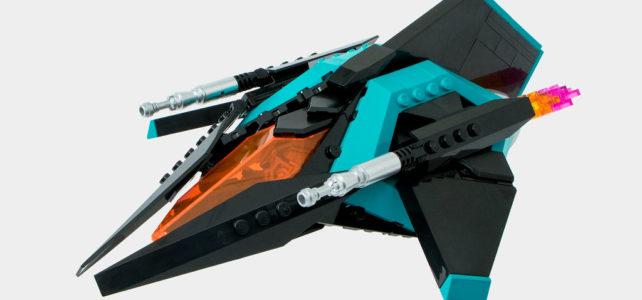 LEGO Vic Viper Dark Phantom