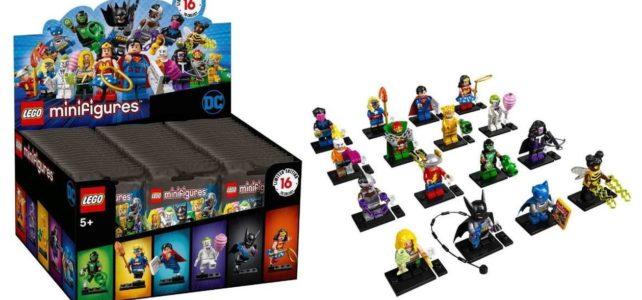 Minifigs à collectionner LEGO 71026 DC Comics Collectible Minifigures : premiers visuels officiels