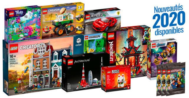 New LEGO 2020