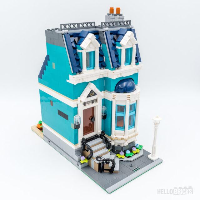 REVIEW LEGO 10270 Modular Bookshop