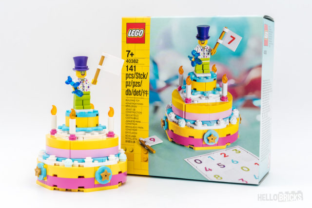 REVIEW LEGO 40382 Birthday Set