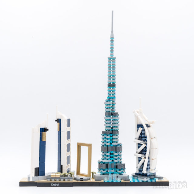 REVIEW LEGO Architecture 21052 Dubai Skyline
