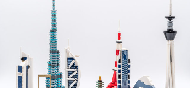 REVIEW LEGO Architecture 20152 Dubai Skyline