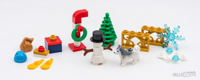 REVIEW LEGO XTRA 40368 Xmas Accessories