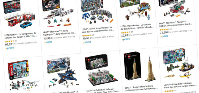 Vente flash LEGO Amazon
