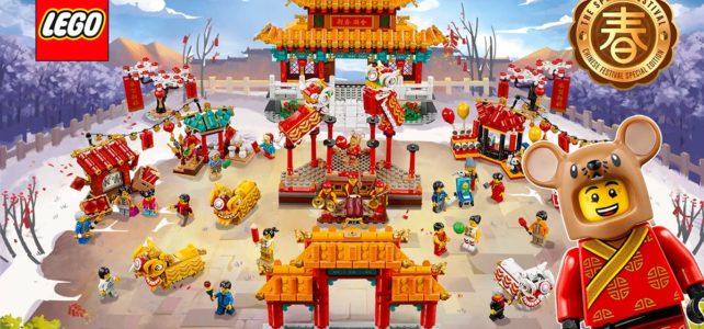 Chez LEGO : les jolis sets du Nouvel An Chinois 2020 sont disponibles !