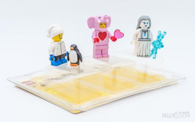 Pack minifigs LEGO Store 2020 elephant rose