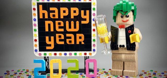 Happy New Year LEGO 2020