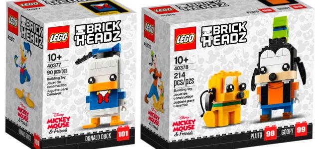 LEGO BrickHeadz Disney 40377 40378