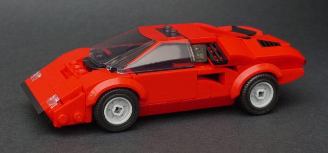LEGO Lamborghini Countach LP400