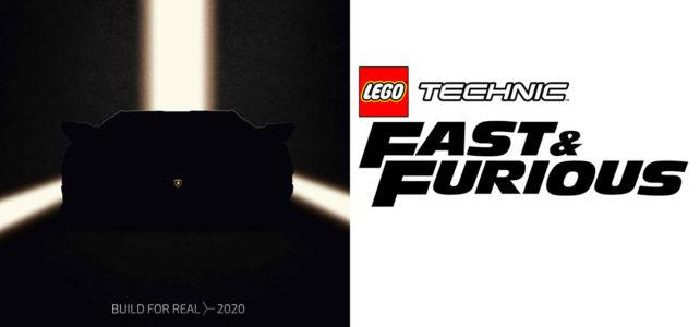 Nouveautés LEGO Technic 2020 : supercar Lamborghini et licence Fast & Furious