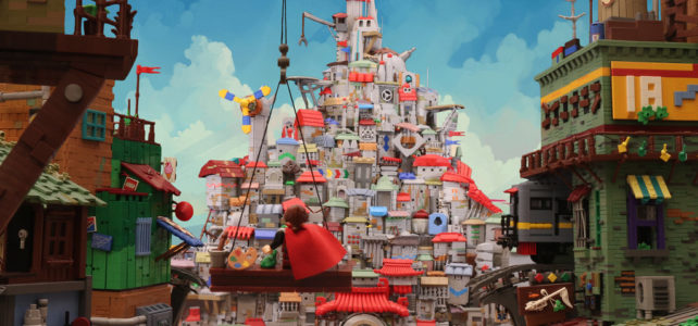 LEGO The Painted City