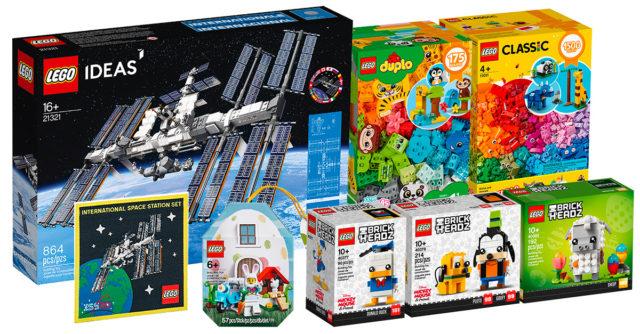 Nouveautés LEGO fevrier 2020