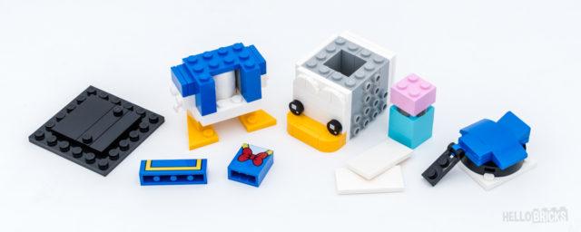 REVIEW LEGO BrickHeadz 40377 Donald Duck