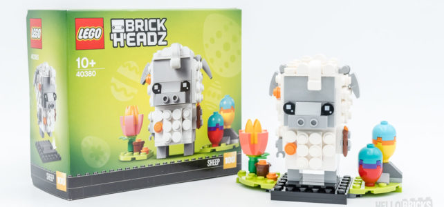 REVIEW LEGO BrickHeadz 40380 Sheep