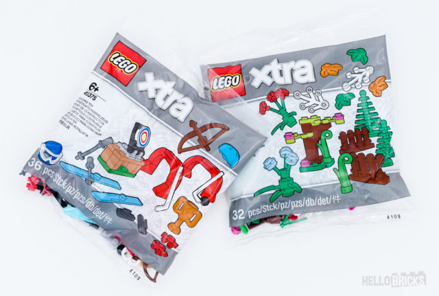 REVIEW LEGO Xtra 2020 40375 40376
