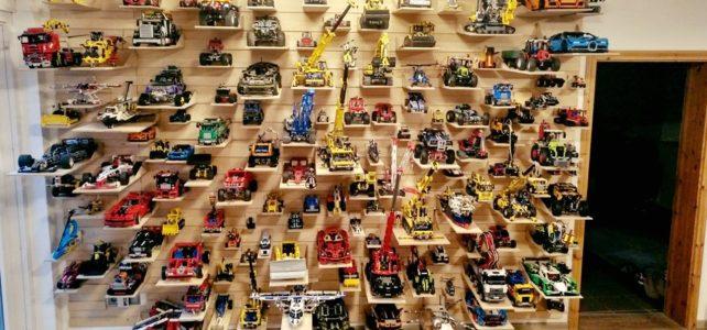 Exposer collection LEGO Technic