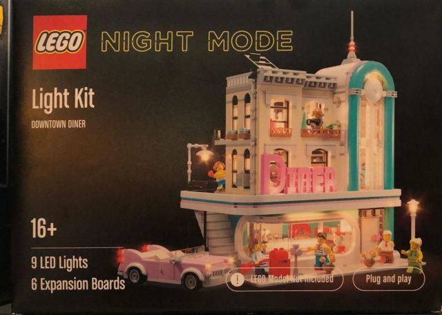 LEGO Night Mode Kit LED Modular Diner