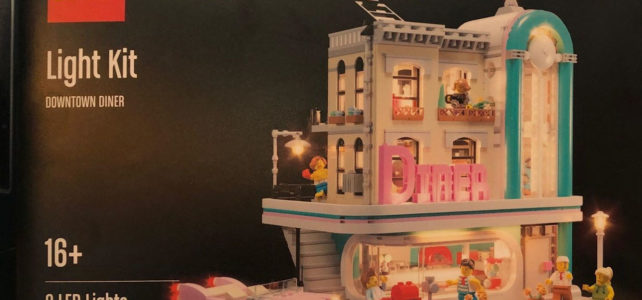 LEGO Night Kit LED Modular Diner