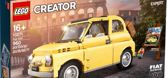 LEGO 10271 Creator Expert Fiat 500