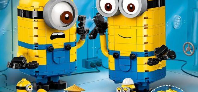 Nouveautés LEGO Minions The Rise of Gru
