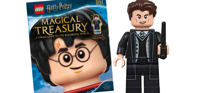 LEGO Harry Potter Magical Treasury Visual Guide : avec une minifig exclusive de Tom Riddle