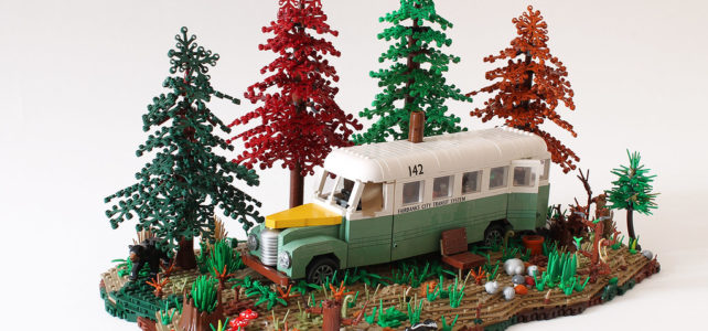 LEGO MOC Into the Wild and the Magic Bus