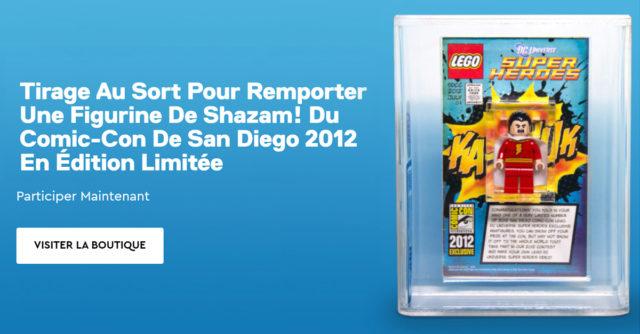 LEGO Shazam SDCC 2012