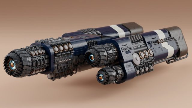 LEGO Spaceship A-10 Asimov