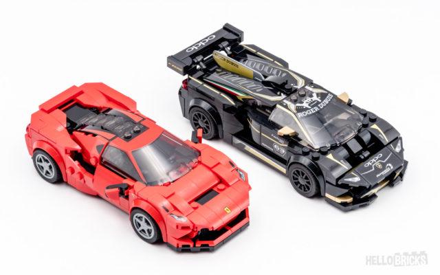 LEGO Speed Champions 2020 Ferrari Lamborghini