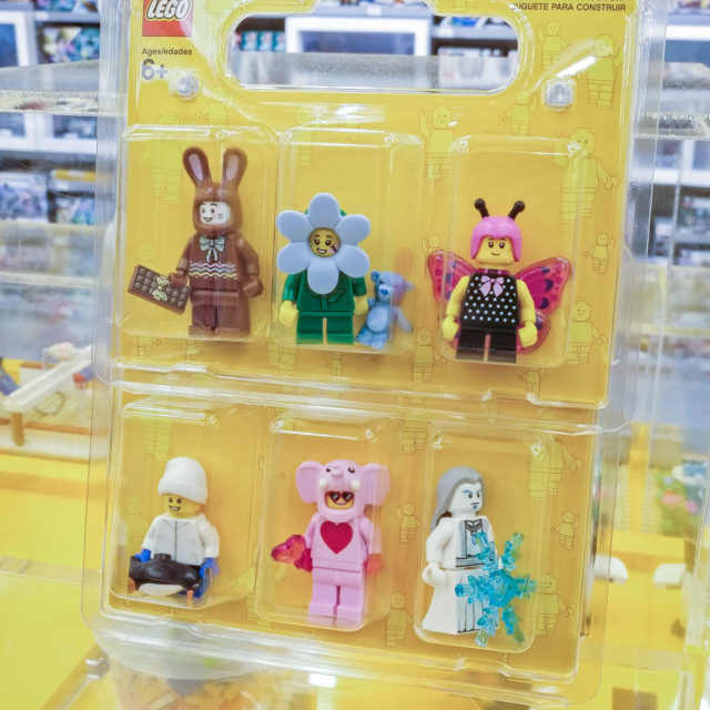 LEGO Store minifigs exclusives 2020